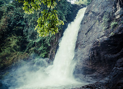 Sentinal Waterfalls a must visit attraction in Wayanad