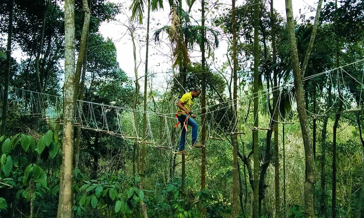 Best adventure resort in Wayanad providing adventure activities