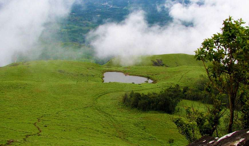 Heart Shape lake in Wayanad Kerala a nearby attraction to our hotel in Wayanad
