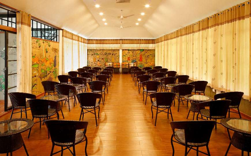Conference Hall at our resort in Wayanad that comes with all modern facilities