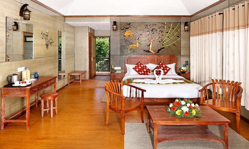 Cottage interior that have well-appointed spaces where the guest can easily connect with nature in peace.