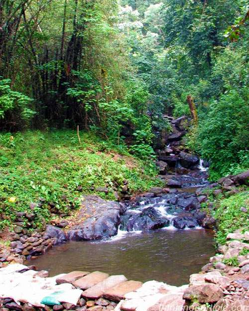 Papanasini river in Wayanad district Kerala