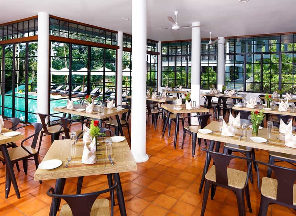Savour delicious meals at our Multi-cuisine restaurant in our hotel in Wayanad