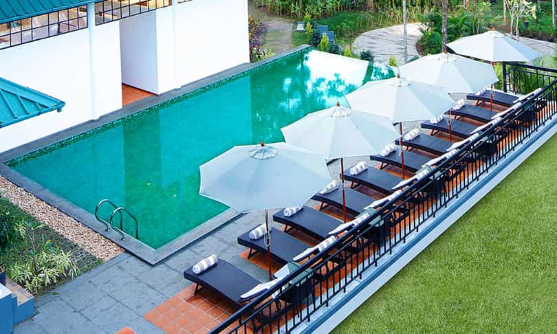 Resorts in Wayanad with swimming pool